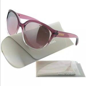 Michael Kors 6036 Mitzi II Rose clear sunglasses